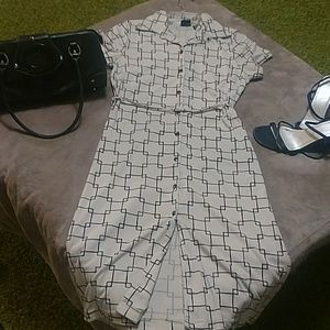 Mossimo button-up dress